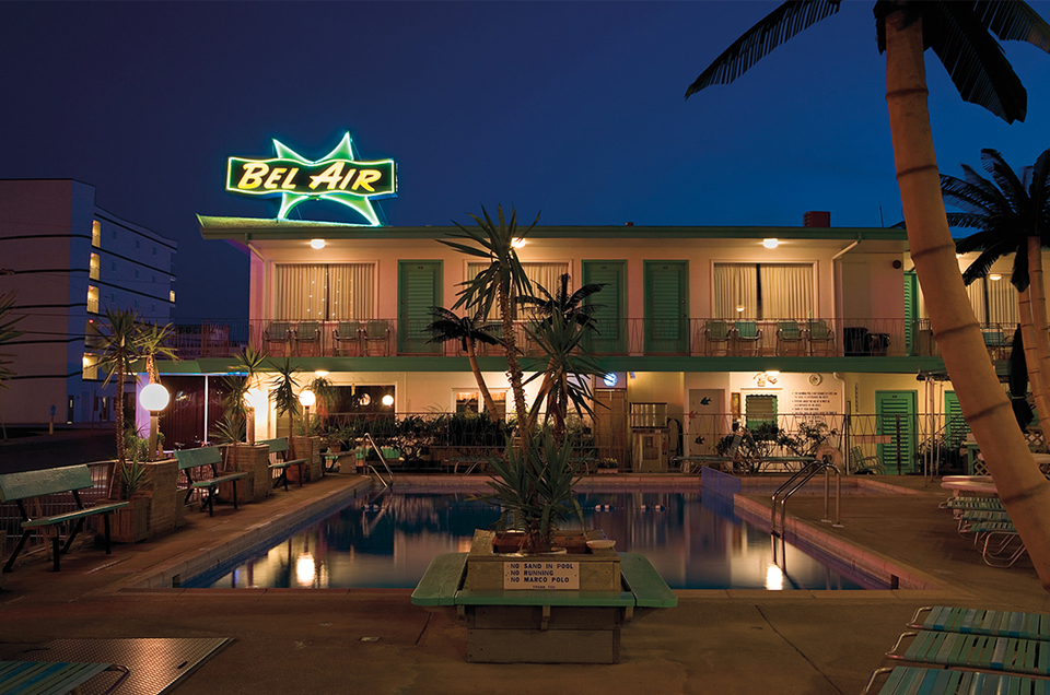 Mid-Century Motels by Night